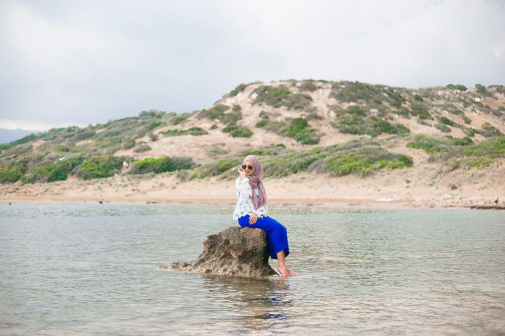 Alagadi beach Kyrenia hills
