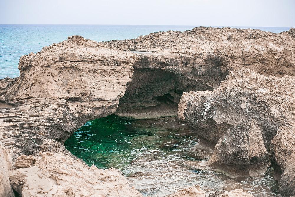 rocks beach water