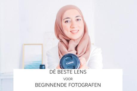Dé lens voor beginnende fotografie en welke niet