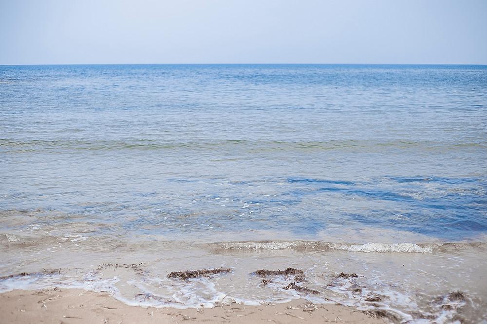 Turtle beach Kyrenia North Cyprus