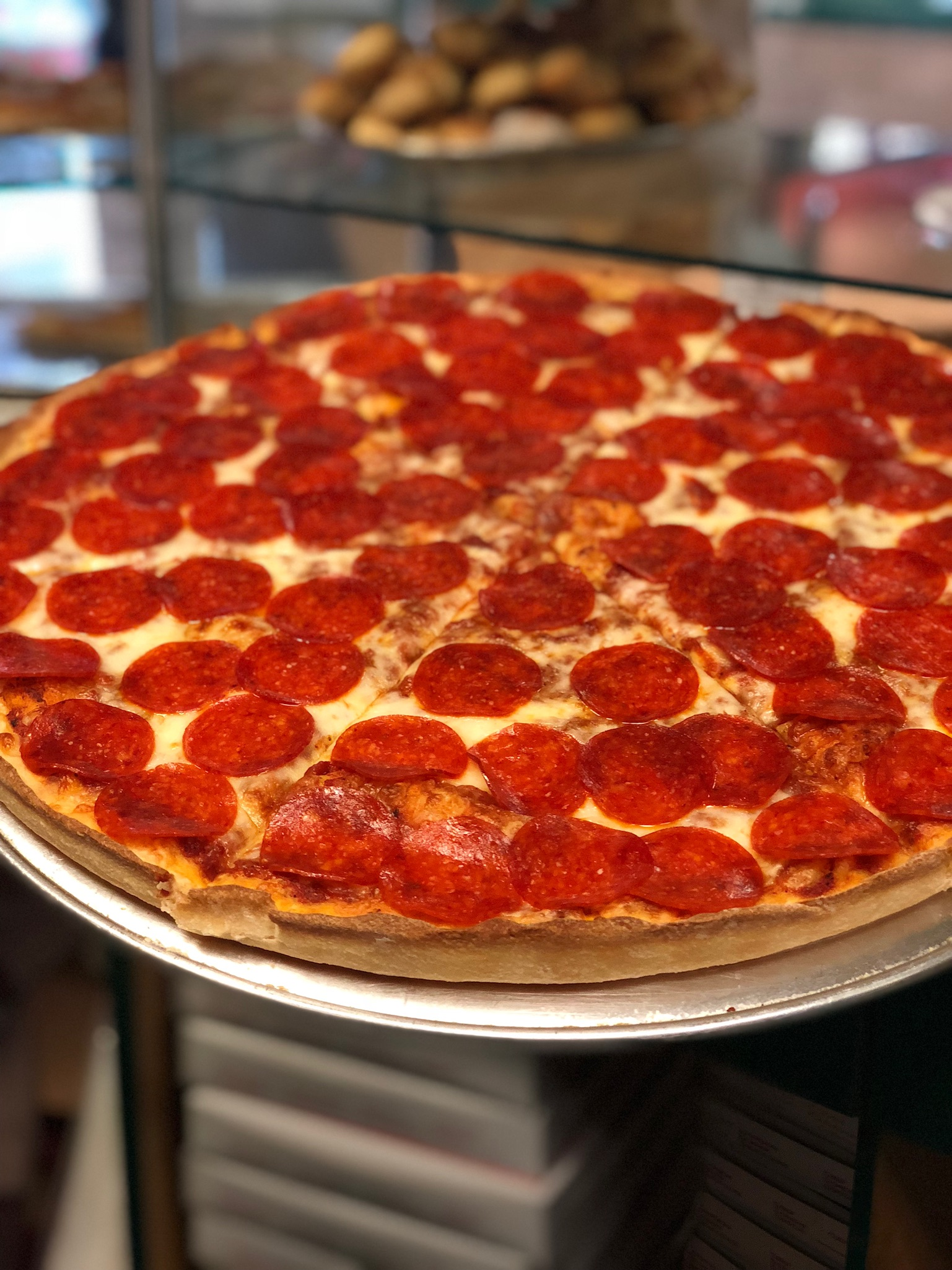 Delicious Pepperoni Pizza
