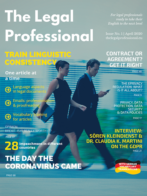 The Legal Professional 1st Issue