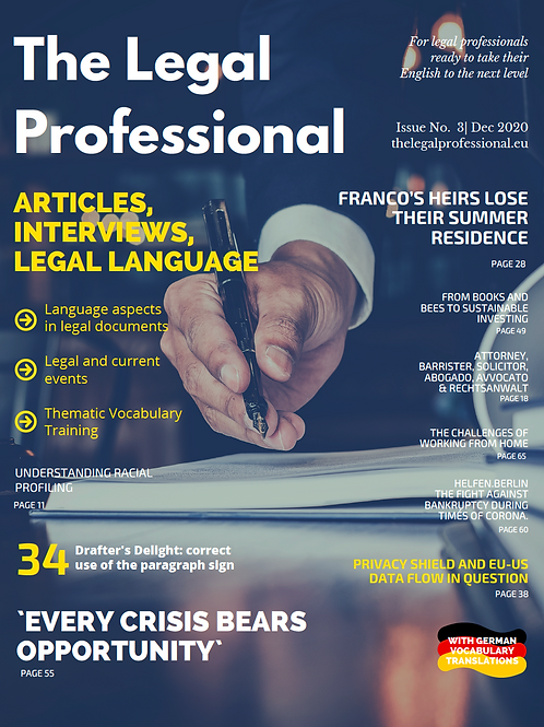 The Legal Professional 3rd Issue