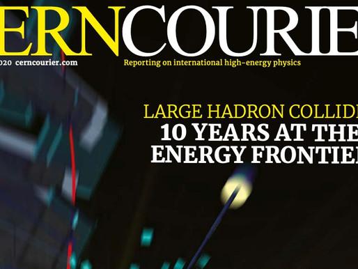 A first taste of CERN Courier