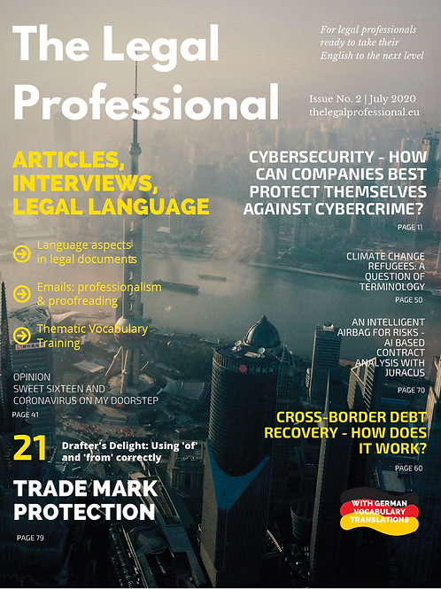 The Legal Professional 2nd Issue