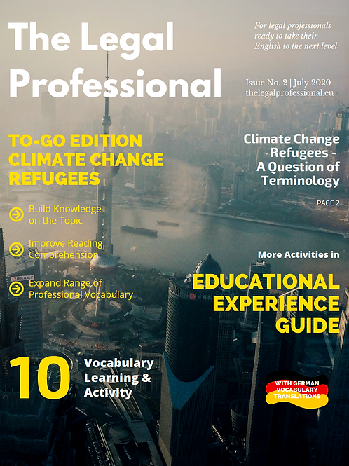 Unturned Stones: Climate Change Refugee: A Question of Terminology