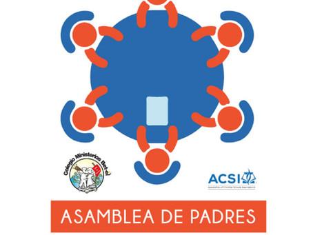 1ra Asamblea de Padres 2019-2020