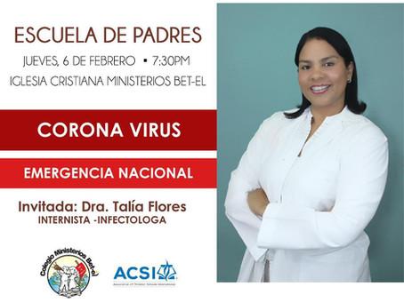 Escuela de Padres: Coronavirus, Emergencia Nacional