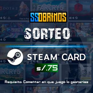 Sorteo Steam Card