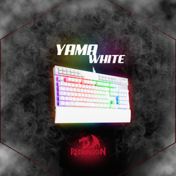 Teclado YAMA White K550 SP Mecánico,