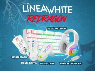 Línea WHITE - Redragon Perú