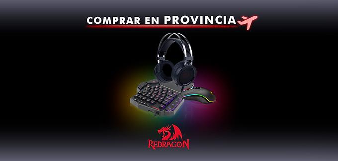 ¡Donde Comprar Redragon en Provincias!
