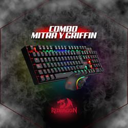 Combo MITRA GRFFIN K551RGB - BA - SP