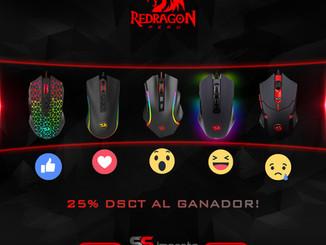 Dale una mano a tu Mouse Gamer Redragon!