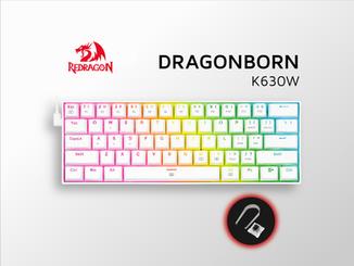 Dragonborn K630W - Redragon Perú