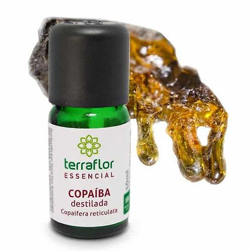 Óleo Essencial Copaíba Destilada 10ml - Terraflor
