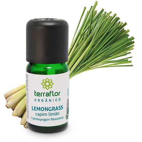 Óleo Essencial Lemongrass 10ml - Terraflor