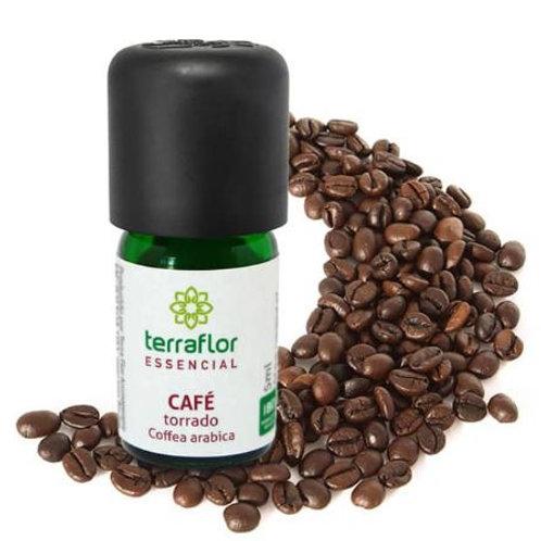 Óleo Essencial Natural de Café Torrado 5ml - Terraflor