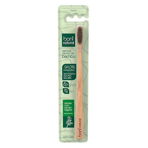 Escova Dental de Bambu - Boni Natural