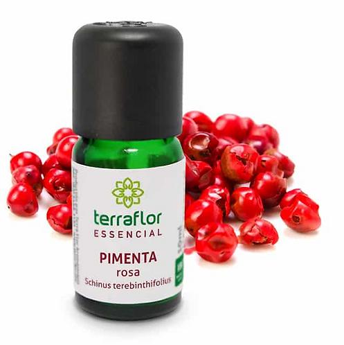 Óleo Essencial Pimenta Rosa 10ml - Terraflor