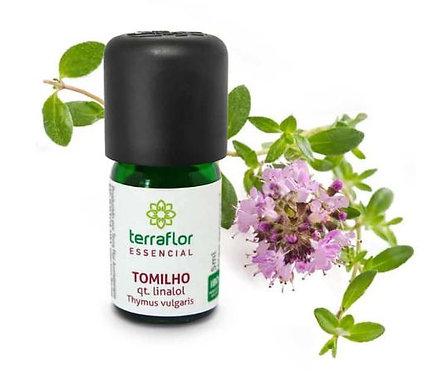 Óleo Essencial de Tomilho qt. linalol 5ml - Terra Flor