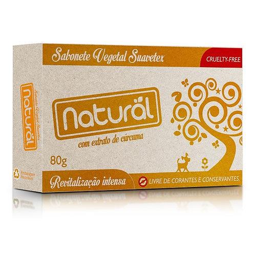 Sabonete Vegano com Cúrcuma 80g - Natural