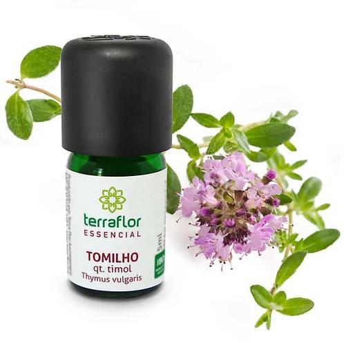 Óleo Essencial Tomilho qt. Timol 5ml - Terraflor