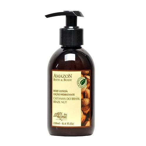 Loção Hidratante Corporal Natural e Vegana Castanha 220 ml - Arte dos Aromas