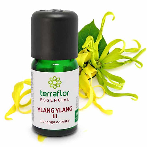 Óleo Essencial Ylang Ylang III 10ml - Terraflor