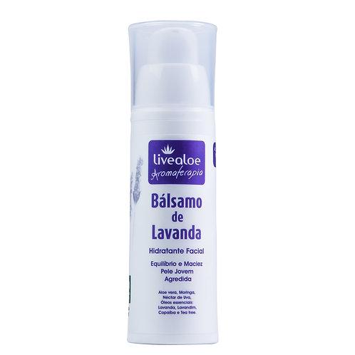 Hidratante Facial Bálsamo de Lavanda 30g - Livealoe