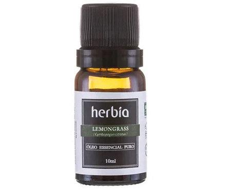 Óleo Essencial de Lemongrass (Capim-limão) 10ml – Herbia