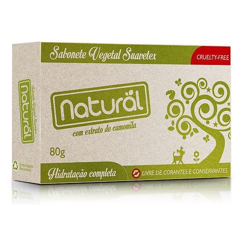 Sabonete Vegano de Camomila 80g - Natural