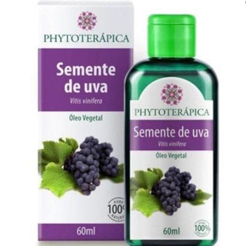 Óleo Vegetal Semente de Uva 60ml Phytoterápica