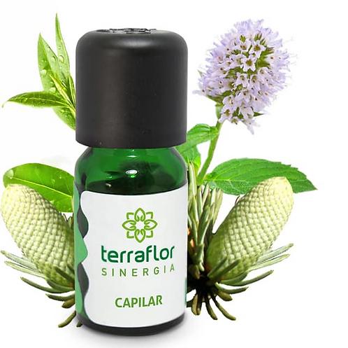 Óleo Essencial Sinergia Capilar 10ml - Terraflor