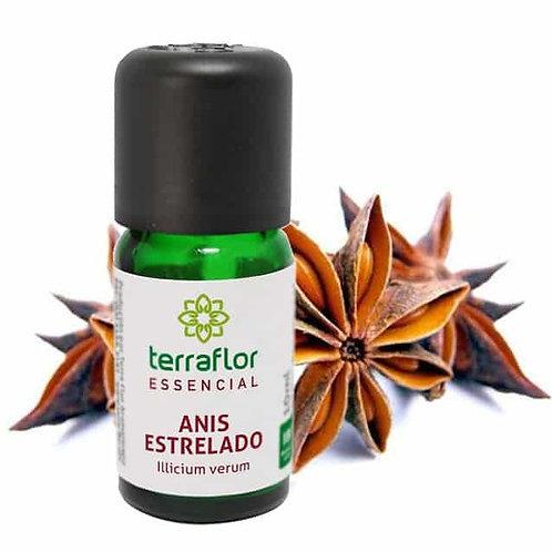 Óleo Essencial Anis Estrelado 10ml -Terraflor