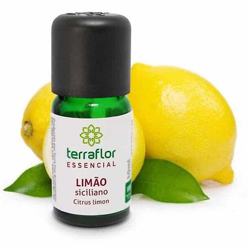 Óleo Essencial Limão Siciliano 10ml - Terraflor