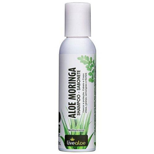 Aloe Moringa Shampoo Sabonete 120ml - Livealoe