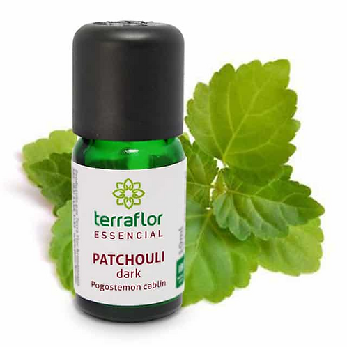 Óleo Essencial Patchouli Dark 10ml - Terraflor