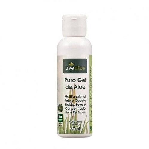 Puro Gel De Aloe Multifuncional Hidratante 60ml - Livealoe