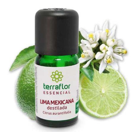 Óleo essencial de lima mexicana 10ml - Terra flor