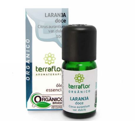 Óleo Essencial Laranja Doce Orgânico 10ml - Terraflor