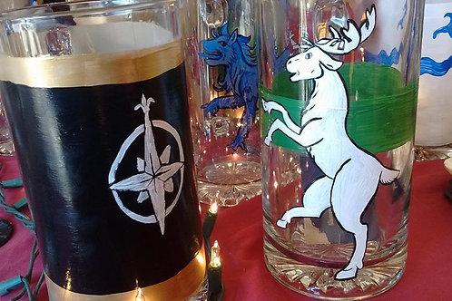 Kingdom Enameled Glassware