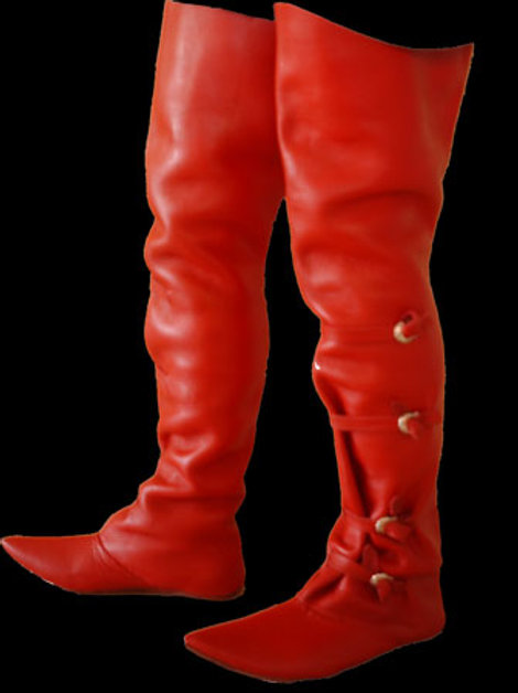 Medieval Riding Boot