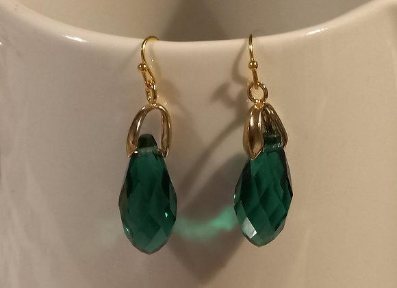 Letitia Green Gem Earrings