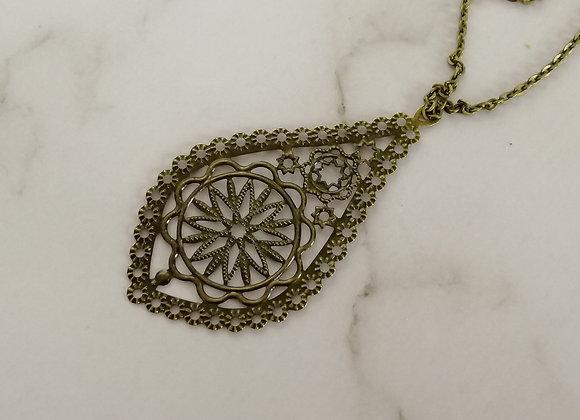 Filigree Necklace Antique - Pixie