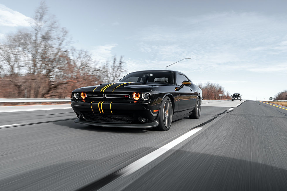 wrapped dodge challenger