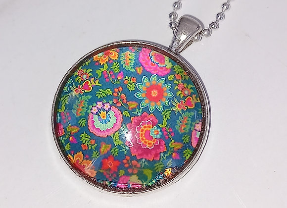 Evelyn Necklace - Silver Setting