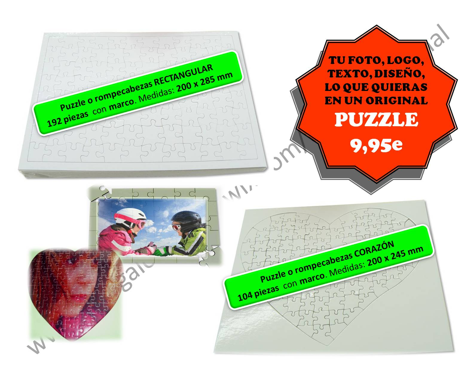 Promos en Puzzles originales