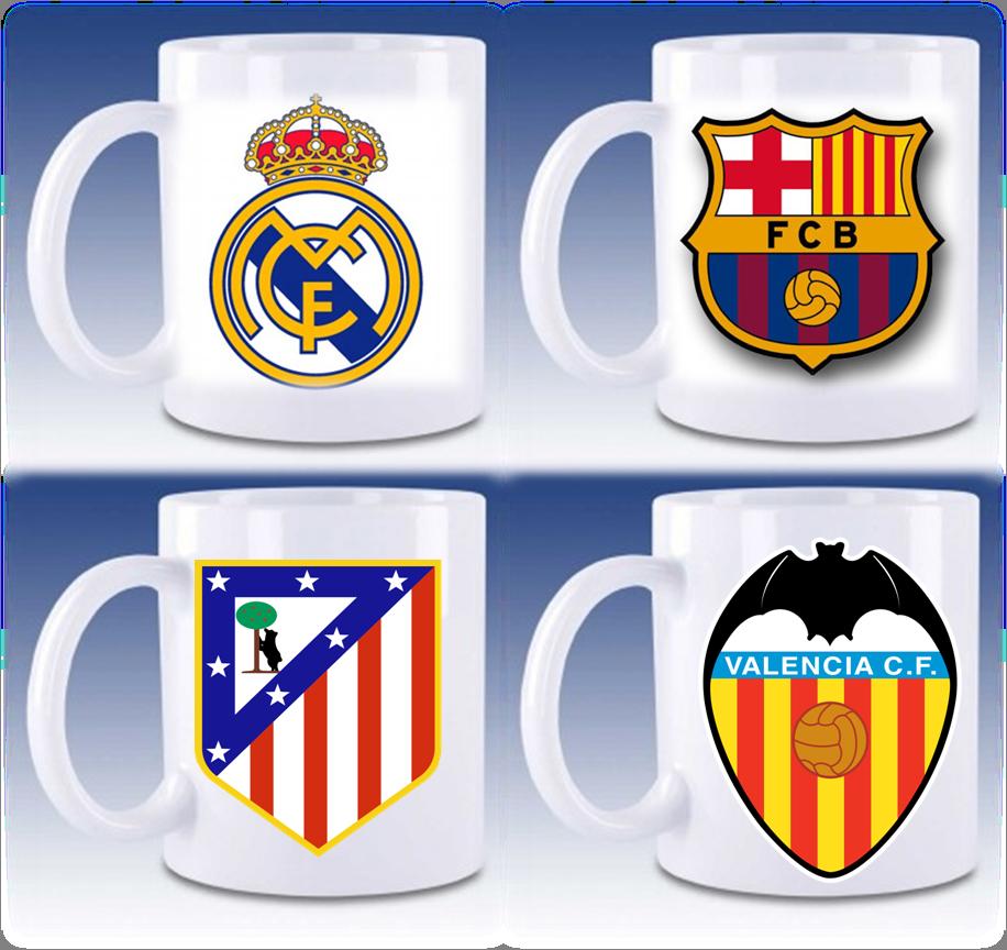 Tazas personalizadas futbol España