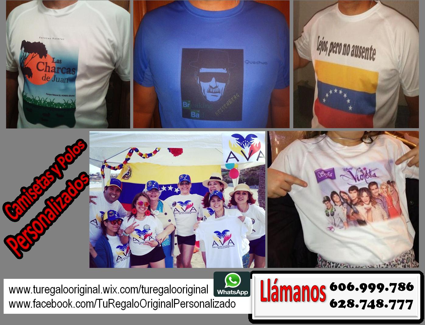 Camisetas personalizadas foto
